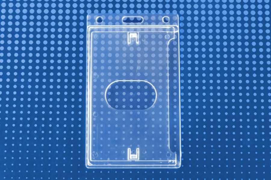Vertical Economy Crystal Clear Card Dispenser Pack Of 100