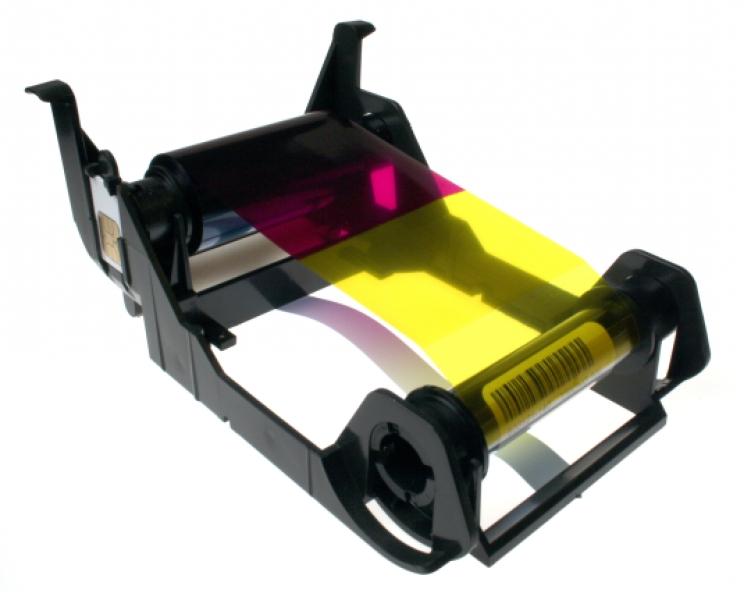 Genuine Zebra 800011-140 Load-N-Go Color Ribbon  for ZXP Series 1 YMCKO