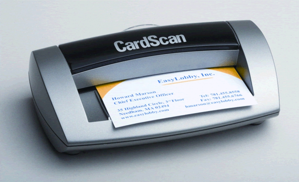 CardScan 800 License/Business Card Scanner