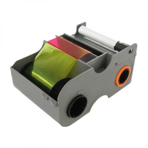 250 prints NEW Genuine Fargo 45100 YMCKO Color Ribbon