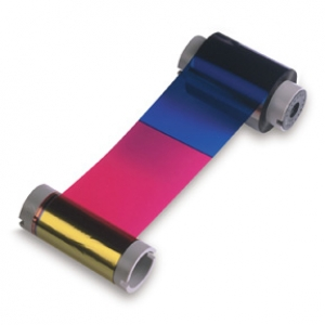 Zebra Full Colour Ribbon - YMCKK - 500 Cards (ZEB-800014-980) Image 1
