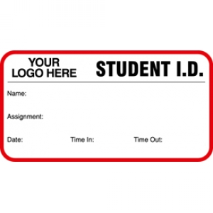 Student ID Card With Custom Logo (Pack of 500) Image 1
