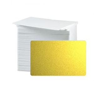 CR80 30 Mil PVC Cards, Metallic Colours (pack of 100) Image 1