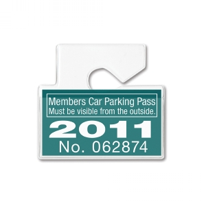 Horizontal Vehicle ID Holder (pack of 100) Image 1