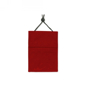 Red 3-Pocket Wallet with Pen Compartment (Pack of 25) Image 1