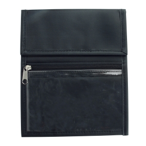 Black Nylon Credential Wallet (Pack of 25) Image 1