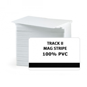 CR80 30Mil PVC Cards with HE Track II Mag Stripe, Graphic Quality (pack of 200) Image 1