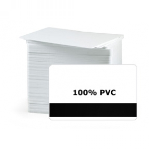 CR80 30Mil PVC Cards with HE Mag Stripe, Graphic Quality (Pack of 200) Image 1
