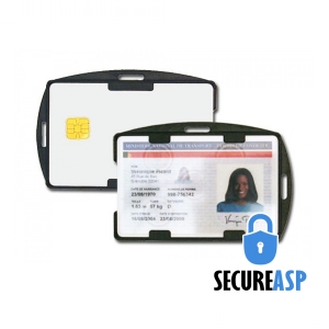 Secure ASP Dual-Sided Rigid Card Holder (Pack of 100) Image 1