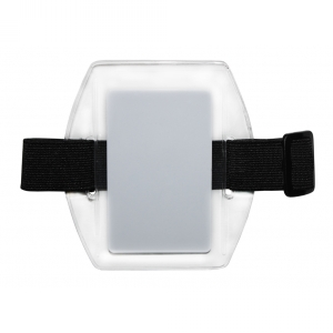 Armband Vinyl Badge Holders (x100) Image 1