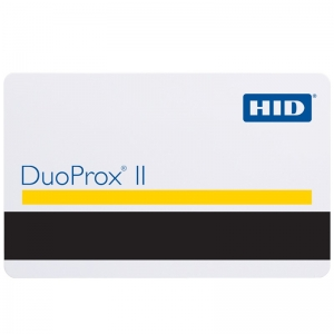 HID 1336 DuoProx II Printable Proximity Card with Mag Stripe (Pack of 100) Image 1