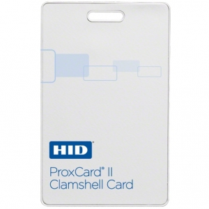 Keyscan HIDC1326 ProxCard II Clamshell Proximity Card (pack of 100) Image 1