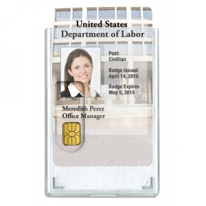 2-Card Rigid Shielded ID Card Holder (Pack of 100) Image 1