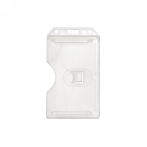 2-Sided Open-Face Rigid ID Holder (Pack of 100) Image 1
