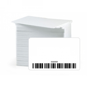 Pre-Encoded Laser Engraved Barcoded Cards with Readable Number (Pack of 100) Image 1