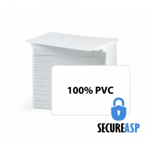 Secure ASP CR80 20Mil PVC Cards, Graphic Quality (pack of 200) Image 1