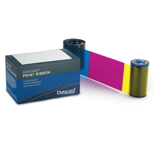 Datacard Full Colour Ribbon - YMCKT - 500 Prints (DC-535000-003) Image 1