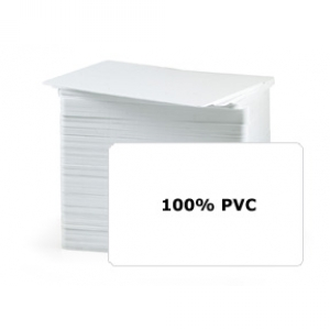 Fargo 81758 UltraCard - CR80 10 Mil Blank White Cards (pack of 200) Image 1