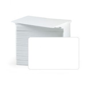 Fargo 82136 UltraCard - CR80 30 Mil Blank White Composite Cards (pack of 100) Image 1