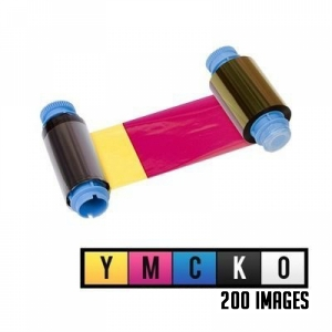 Javelin YMCKO Full Colour Single Sided Ribbon - 200 Prints  Image 1