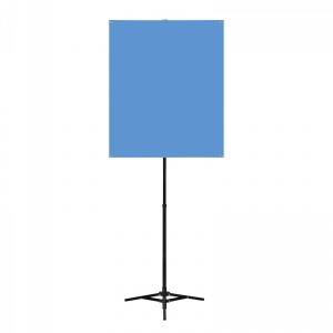Portable Photo Backdrop Stand with Backdrop Image 1