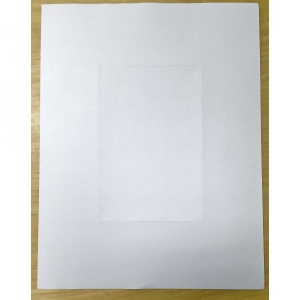 Blank Pre Perfed Sheets with Microperf Centre (500 per box) Image 1