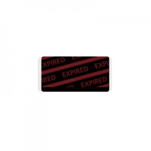 06056 Adhesive expiring token back with