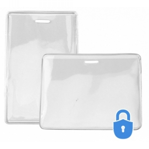 Secure ASP Vinyl Prox Card Holders - Credit Card Size (Pack of 100) Image 1