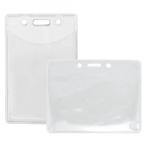 PVC-Free PureClear ID Holders - Credit Card Size (Pack of 100) Image 1