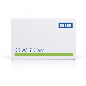 HID iClass Card, Format H10302 with Mag Stripe (Pack of 100) Image 1