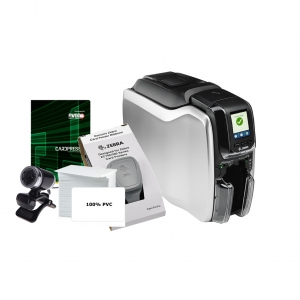 Zebra ZC300 Dual Sided Card System Image 1