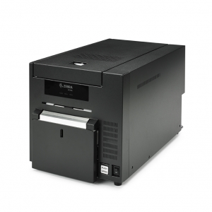 Zebra ZC10L Large-Format Single-Sided Card Printer  Image 1