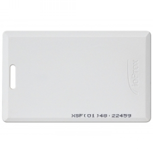 HIDC1326KSF - Kantech Factory Programmed Clamshell Proximity Card (Pack of 50) Image 1