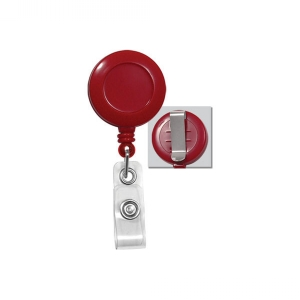 Secure ASP Red Economy ID Badge Reel (Pack of 100) Image 1
