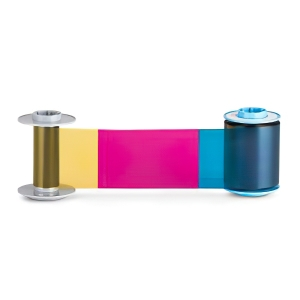 Fargo 84911 YMCK Color Ribbon - 750 prints Image 1