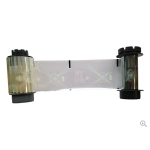 Evolis YMCKI Full Colour Ribbon for Cards with Chip, Mag, or Signature Panel (EV-RT5F012NAA) Image 1