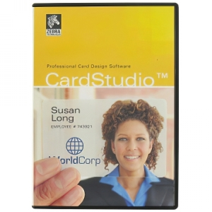 Zebra CardStudio Standard ID Card Software Image 1