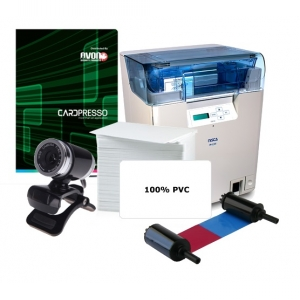 Nisca 600DPI Dual Sided HDP Retransfer ID Card System Image 1