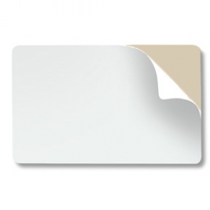 ASP Brand CR80 10 Mil Mylar-backed Self-Adhesive PVC Card for Prox (pack of 100) Image 1