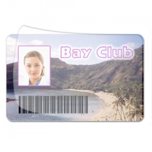 Q48 - Polyester 2 Mil Pressure Sensitive Clear Overlay CR79 size SPLITBACK (Pack of 100) Image 1