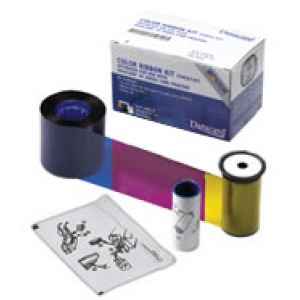 Datacard YMCKT Full Colour Ribbon with Short Panel - 650 Prints (DC-534700-002-R010) Image 1