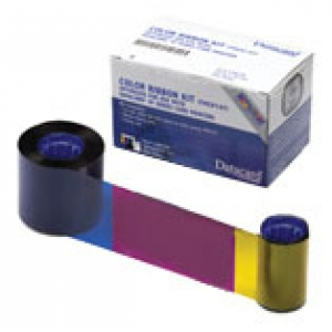 Datacard YMCKO Full Colour Ribbon - 250 Prints Image 1