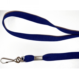 Non Breakaway Navy Blue Lanyard with Swivel Hook - Pack of 100 Image 1