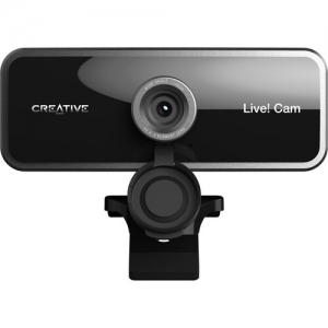 Creative Labs Sync Cam Live!  - Tripod Mountable 1080p Wide angle Webcam with Dual Microphones Image 1