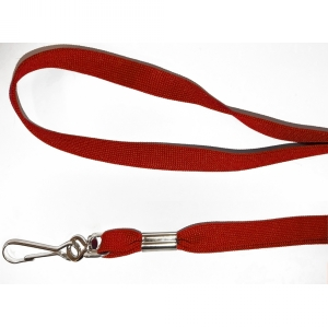 Non Breakaway Burgundy Lanyard with Swivel Hook - Pack of 100 Image 1