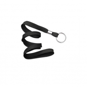 3/8in Flat Lanyard with Split Ring (Pack of 100) Image 1