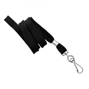 3/8in Flat Long Lanyard with Swivel Hook (Pack of 100) Image 1