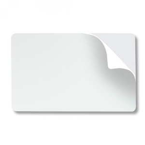 CR80 10 Mil Paper-backed Self-Adhesive PVC Card for Prox (pack of 100) Image 1