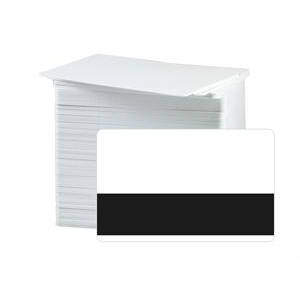 CR80 30Mil Composite Cards with Bar Code Mask, Graphic Quality (pack of 100) Image 1