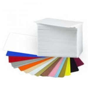 CR80 30 Mil PVC Cards, Assorted Colours (pack of 100) Image 1